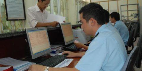 Hoạt động nghiệp vụ tại Chi cục Hải quan Thái Bình.